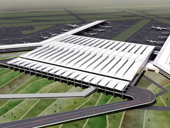 Терминал 3 аэропорта в Дели