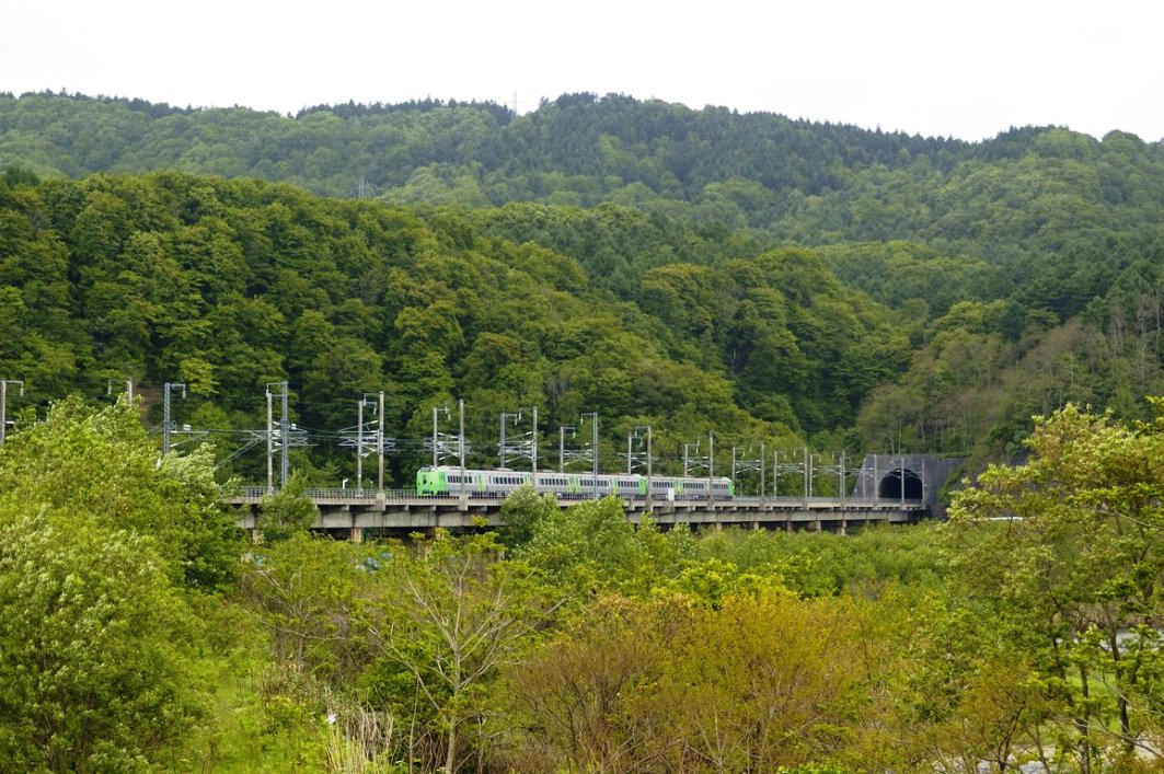 The high-speed rail corridor will have a 21 km tunnel under the