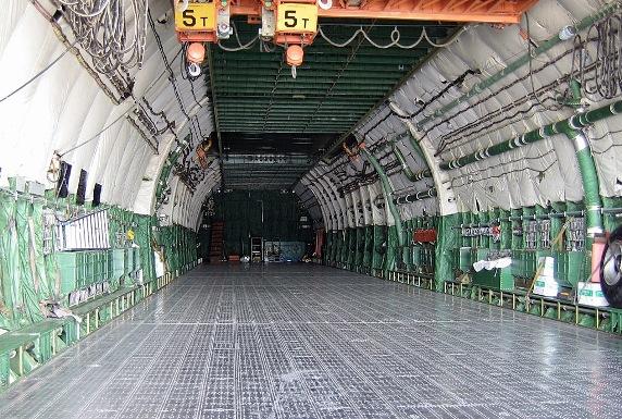 Грузовой отсек АН - 225