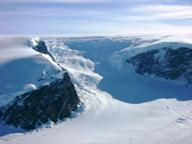 Антарктида - ледники