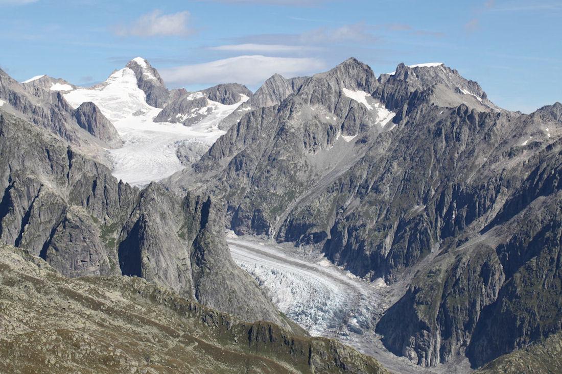 Алеч ледник в Альпах