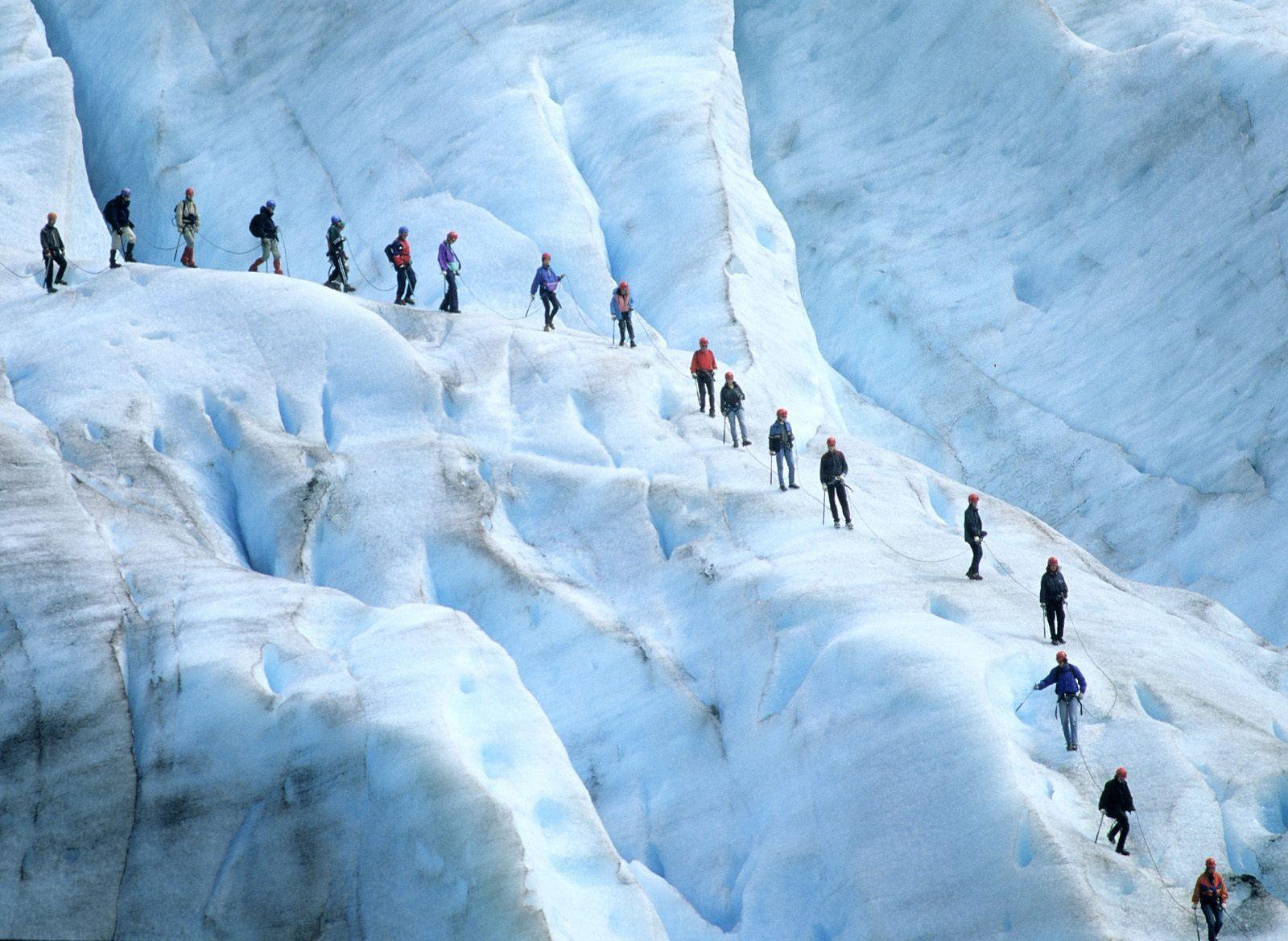 Ледник Юстедальсбреен, Норвегия