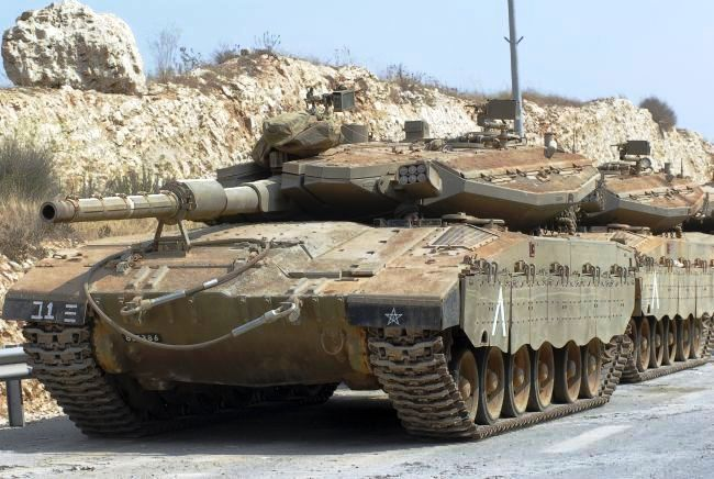 Merkava Mark IV (Израиль)