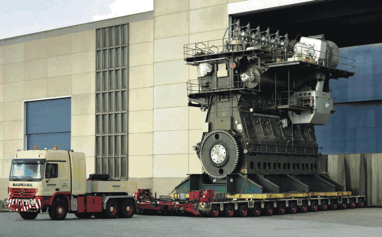 Как делают дизельный двигатель для судна (видео)