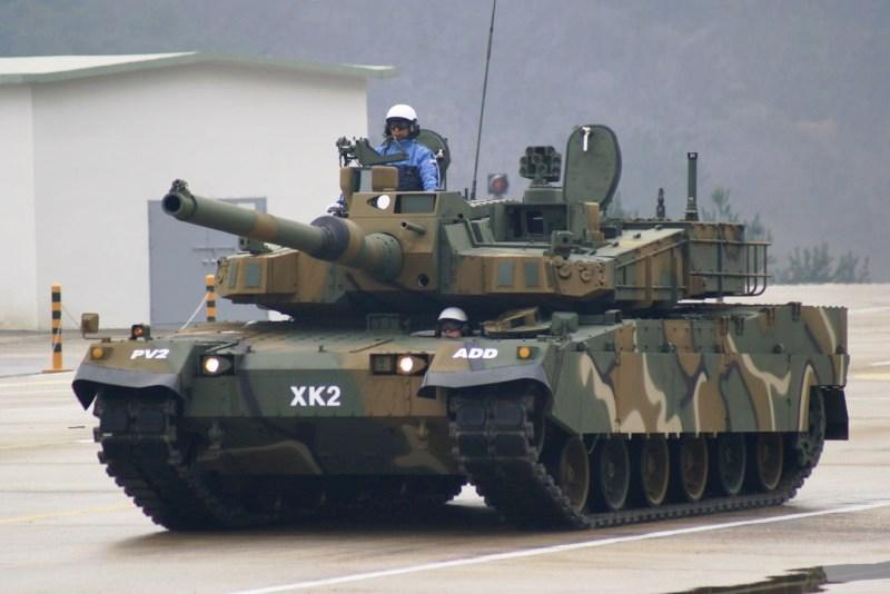 Танк K2 Black Panther (Республика Корея)
