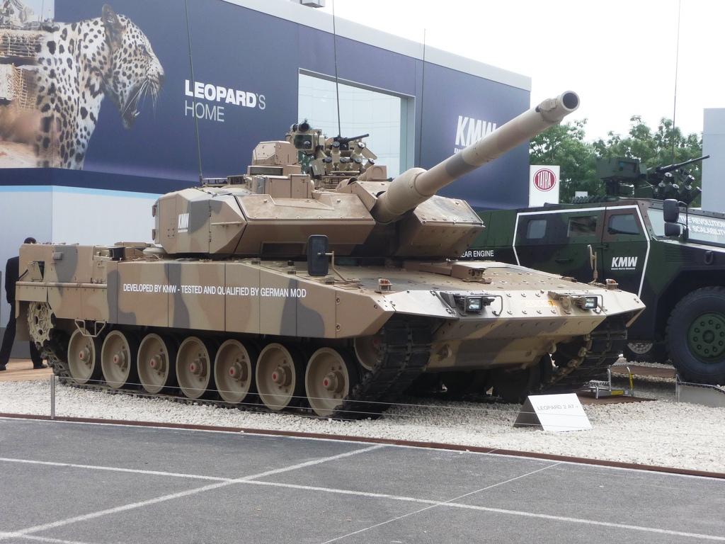 Немецкий танк Revolution всего лишь модернизация