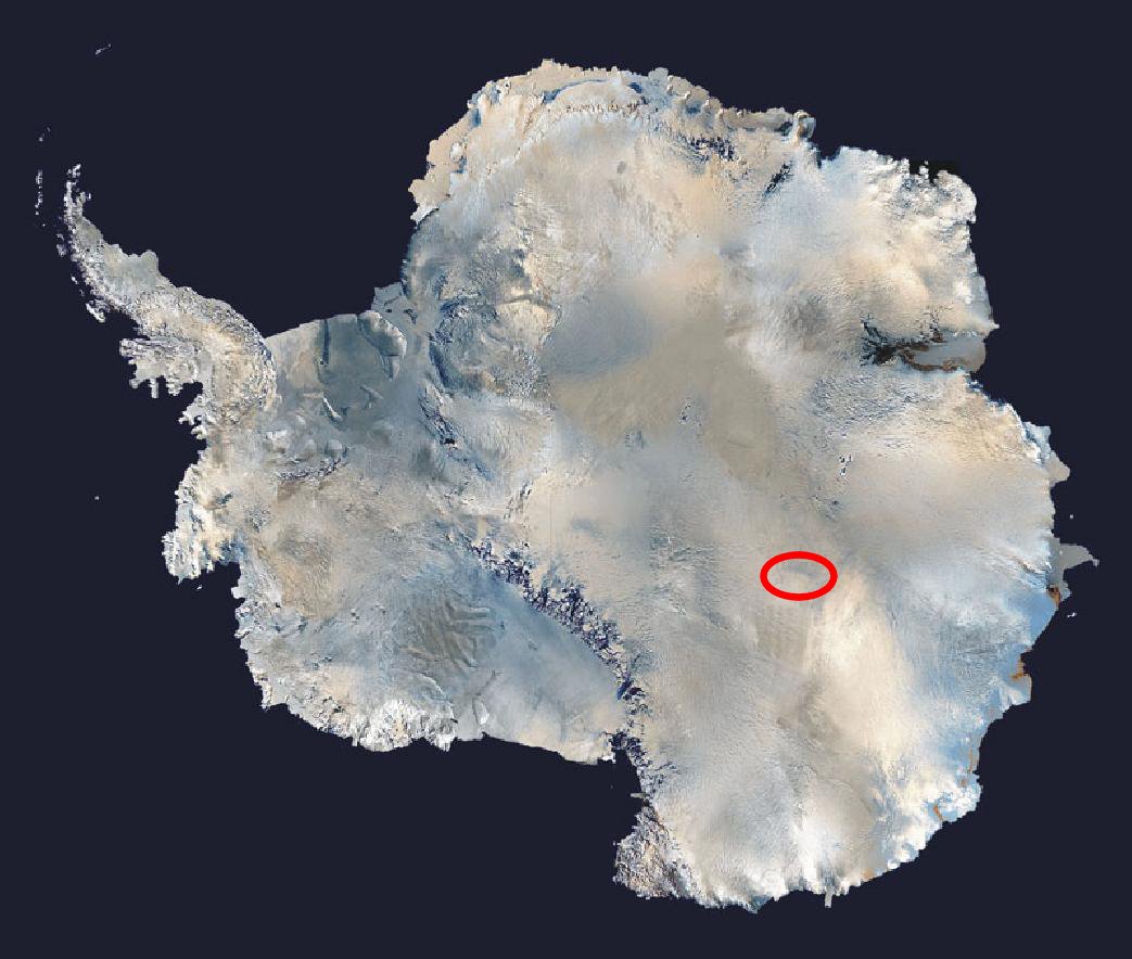 Где находится самое холодное место на Земле?