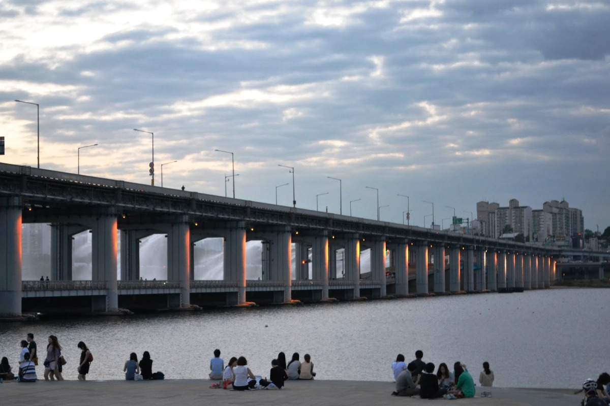 Мост Banpo Bridge