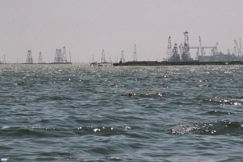 Загрязнение Каспийского моря